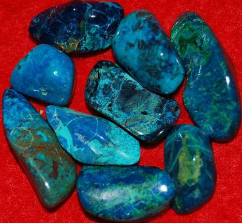 9 Shattuckite Tumbled Stones #5