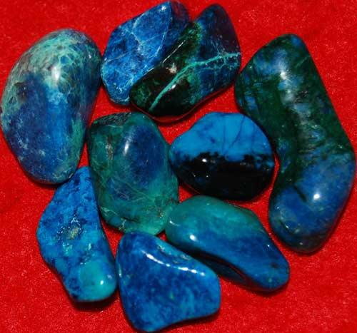 9 Shattuckite Tumbled Stones #6