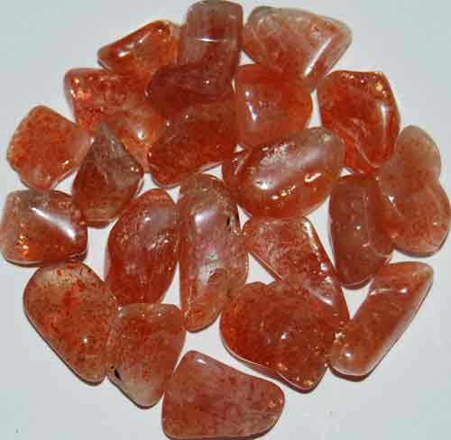 21 Tumbled Sunstones #5