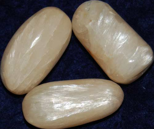 3 Stilbite Tumbled Stones #3