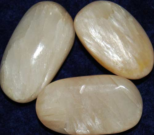 3 Stilbite Tumbled Stones #5