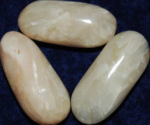 3 Stilbite Tumbled Stones #7