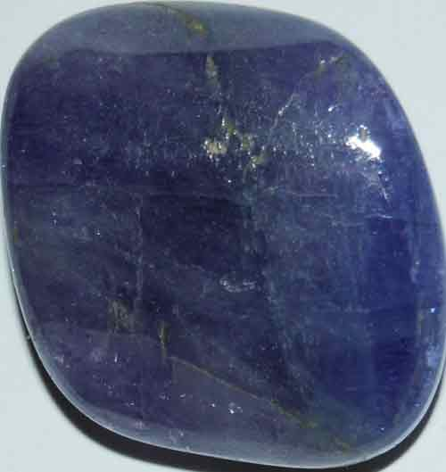 One Tanzanite Tumbled Stone #15