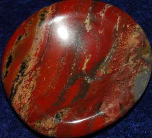 Brecciated Jasper Worry Stone #13