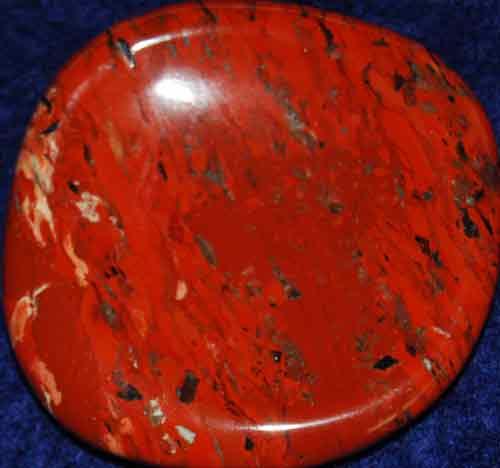 Brecciated Jasper Worry Stone #14