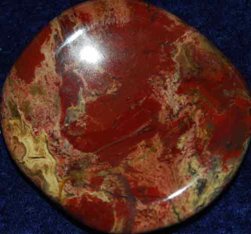 Brecciated Jasper Worry Stone #16