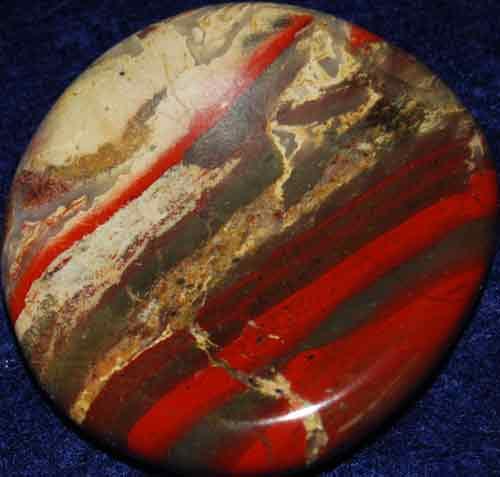 Brecciated Jasper Worry Stone #17