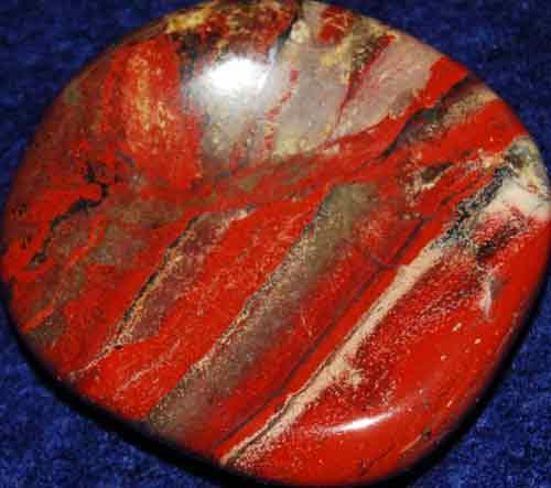 Brecciated Jasper Worry Stone #18