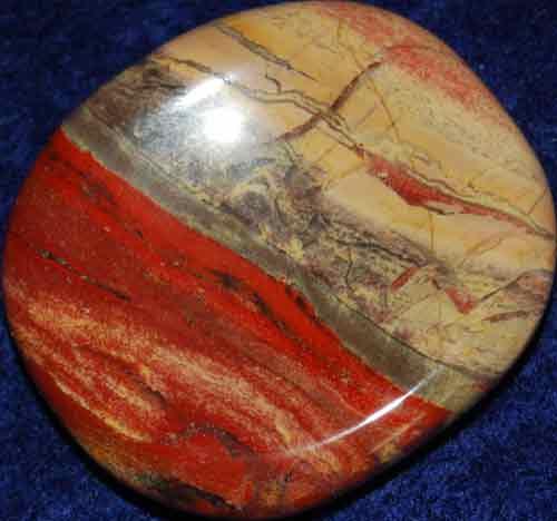 Brecciated Jasper Worry Stone #19