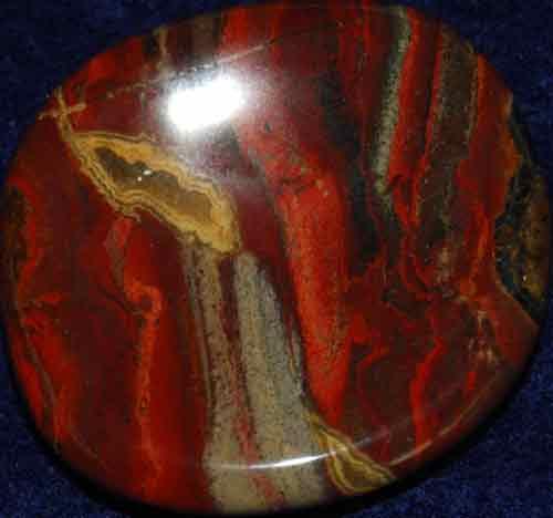 Brecciated Jasper Worry Stone #20