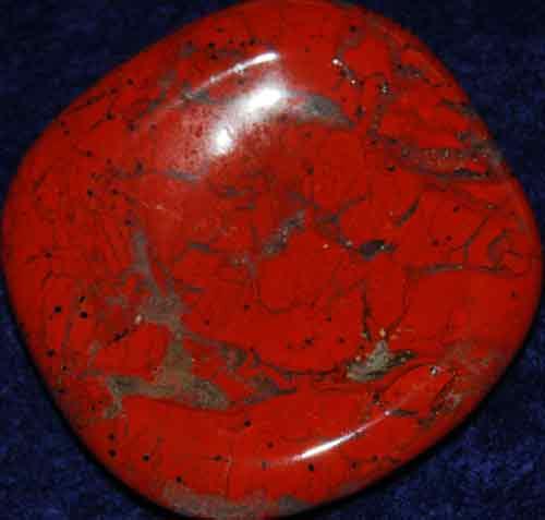 Brecciated Jasper Worry Stone #21