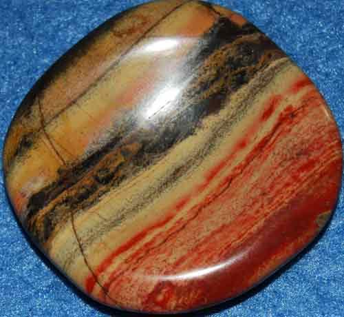 Brecciated Jasper Worry Stone #22