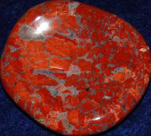 Brecciated Jasper Worry Stone #23