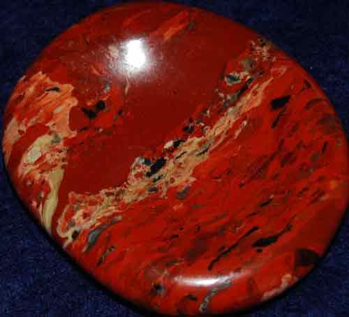 Brecciated Jasper Worry Stone #24