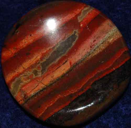 Brecciated Jasper Worry Stone #25