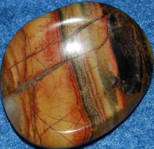 Brecciated Jasper Worry Stone #28