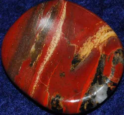 Brecciated Jasper Worry Stone #29