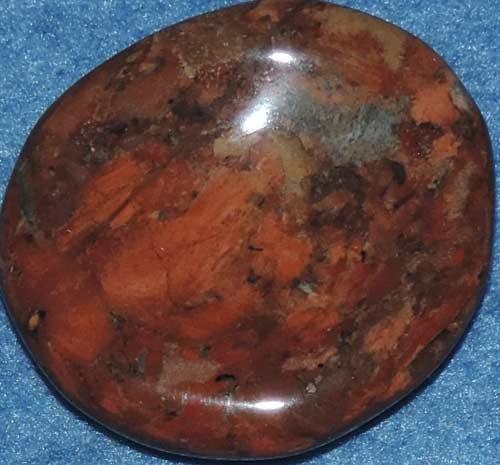 Brecciated Jasper Worry Stone #3
