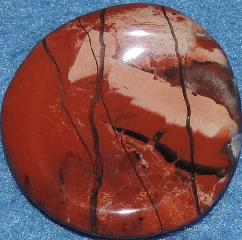 Brecciated Jasper Worry Stone #5