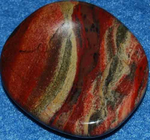 Brecciated Jasper Worry Stone #7