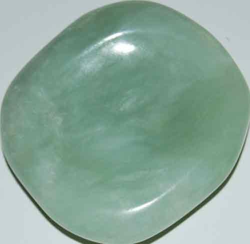 Bowenite (New Jade) Worry Stone #10