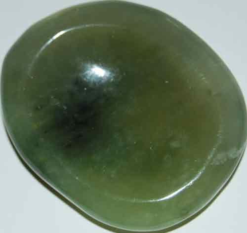 Bowenite (New Jade) Worry Stone #11