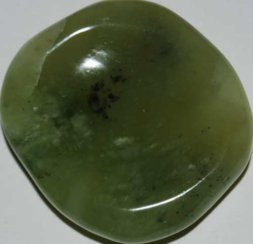 Bowenite (New Jade) Worry Stone #2