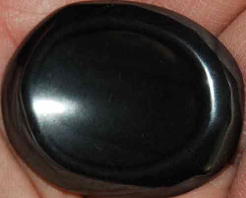 Hematite Worry Stone #1