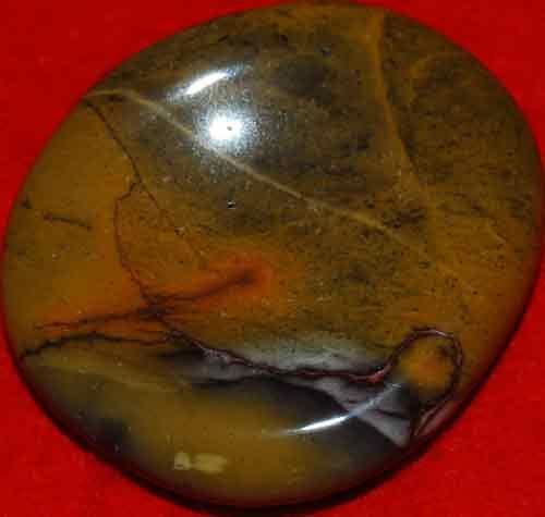Mookaite Worry/Thumb Stone #15