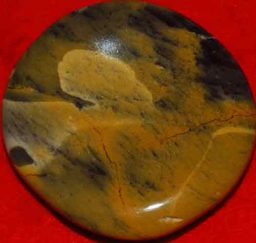 Mookaite Worry/Thumb Stone #19