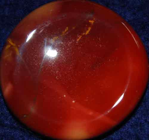 Mookaite Worry/Thumb Stone #2