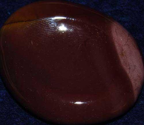 Mookaite Worry/Thumb Stone #4