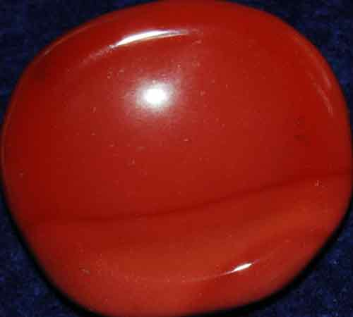 Mookaite Worry/Thumb Stone #9