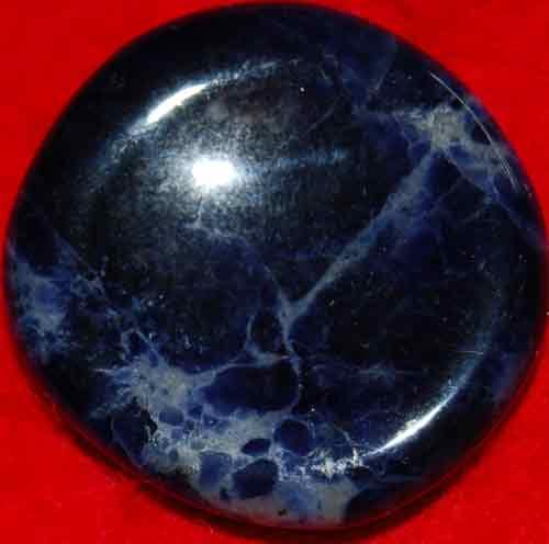 Sodalite Worry/Thumb Stone