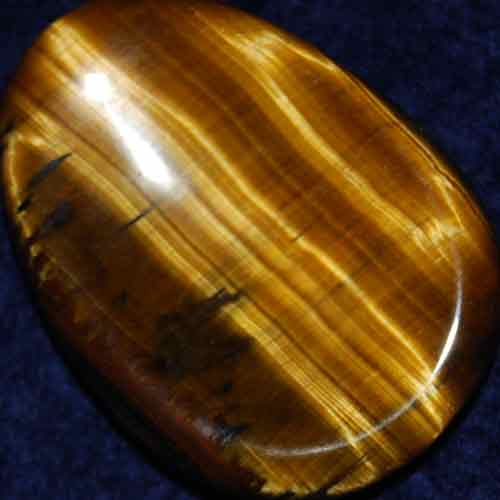 Tiger Eye Worry Stone #14