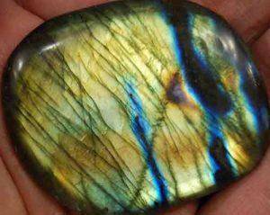 Labradorite Palm Stone #12