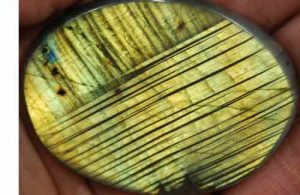 Labradorite Palm Stone #17