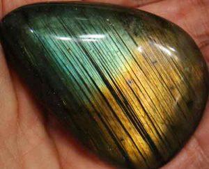 Labradorite Palm Stone #24