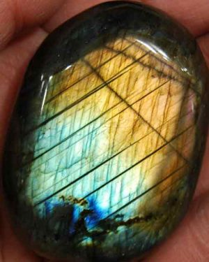 Labradorite Palm Stone #25