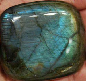 Labradorite Palm Stone #28
