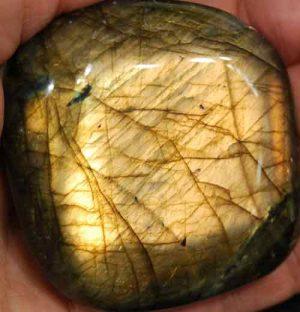Labradorite Palm Stone #31