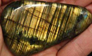 Labradorite Palm Stone #9